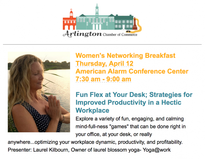 Skip The Games Lexington >> 4/12/18 - Women's Networking Breakfast- Fun Flex at Your Desk; Strategies for Improved ...